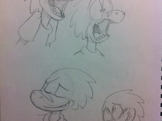 Expressions, shapes, and a cranky lady