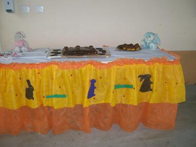 Aula de culinária com a tia Amanda- Bolo de Páscoa- Pré