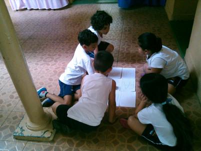 Dinâmica: Construção de palavras- Pré