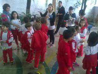 Visita da Escola Maple Bear!