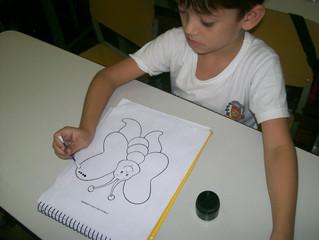 Arte: Pintura com tinta- Pré