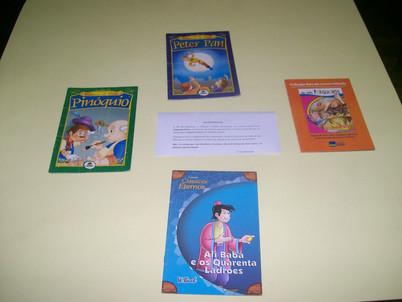 História- Incentivo a leitura- Pré