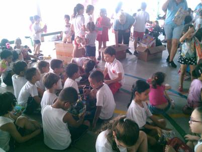 Lanche especial e visita da Escola Maple Bear- Pré