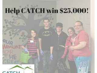 Vote Now to Help CATCH win $25,000!