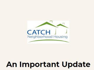 An Important Update from CATCH