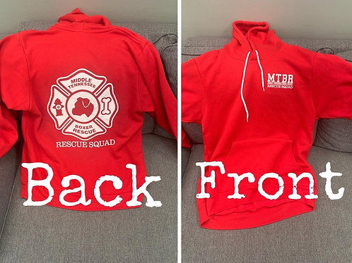 Red Rescue Hoodie