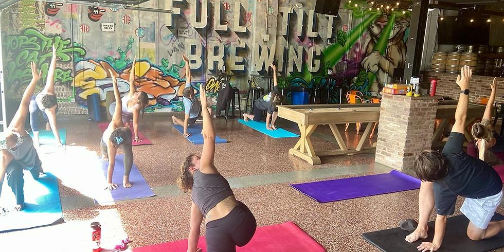 B More Global Tilted Yoga