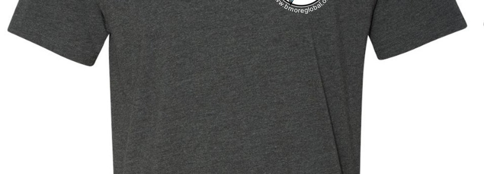 Charcoal Tee Front