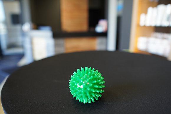 """Balle Tactile pour massage 2.8"""" verte"""