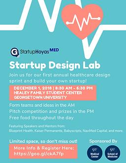 Startup Design Lab 2018