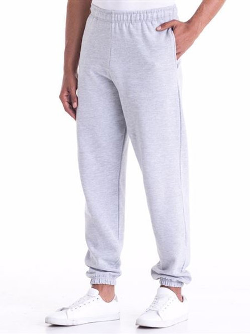 College Cuffed Sweatpants (with Heart Angel Embroidered Logo on Front)