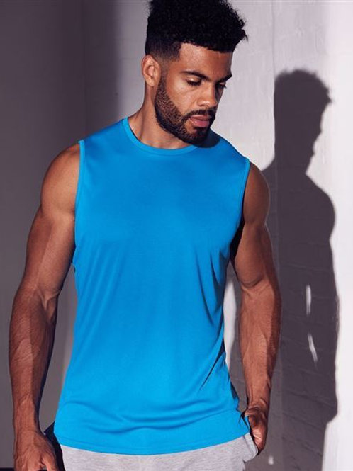 Gents - Cool Smooth Sports Vest (with the Heart Angel Logo on the Front)