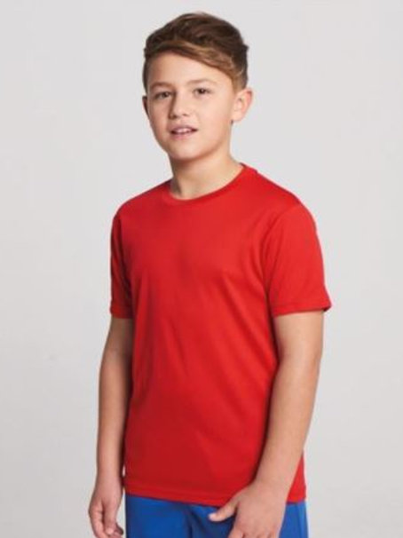 Youth - COOL T-shirt - (with Heart Angel Embroidery Front & Back)