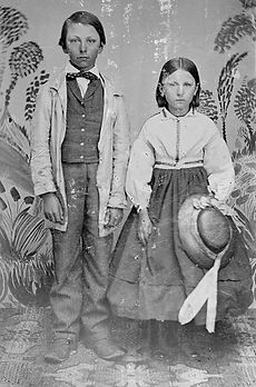 George Gasche and sister Mary.jpg