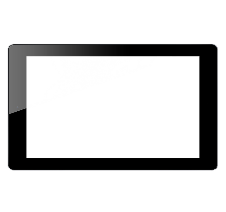 tablet with a video