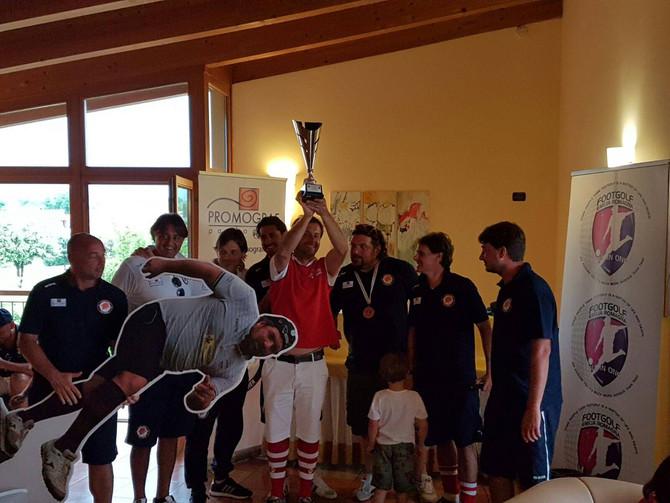 Regions Cup Veneto: Lappo campione, Footgolf Vicenza in argento