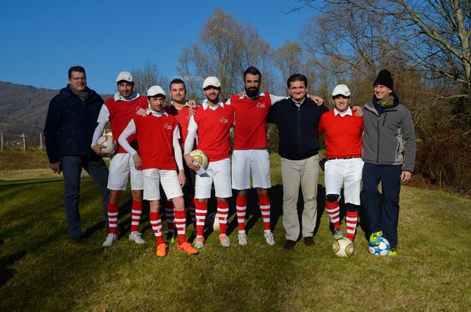 Footgolf Vicenza: il battesimo ad Asolo
