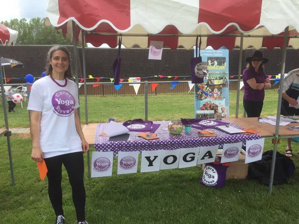 Stall at Hatfest Fun Day 2016