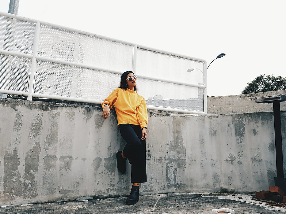 Woman with Yellow Sweater