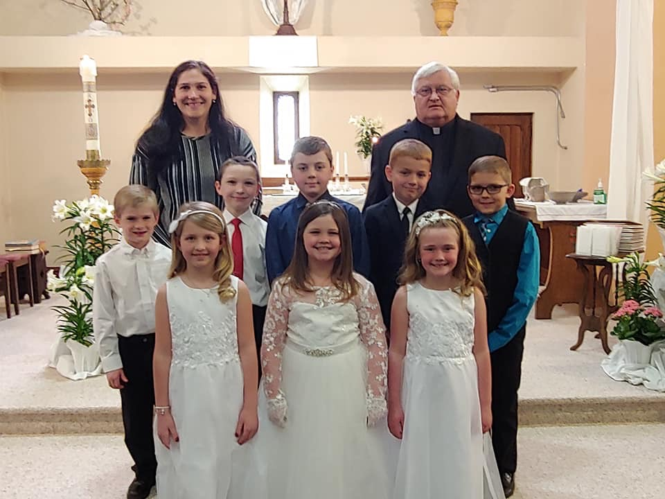 2019 First Communion
