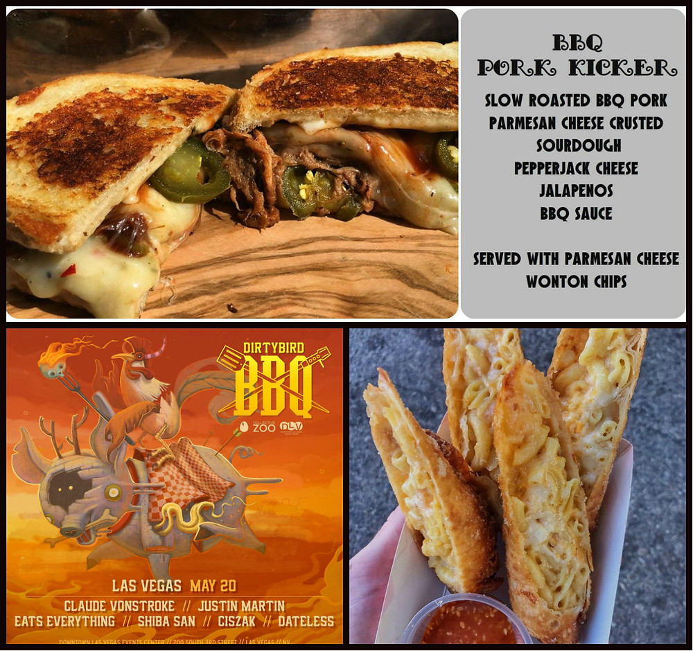 What you can get at Dirty Bird BBQ Vegas
