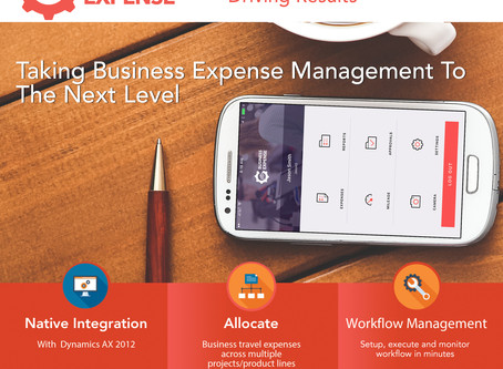 WE'RE TAKING BUSINESS EXPENSE MANAGEMENT TO THE NEXT LEVEL