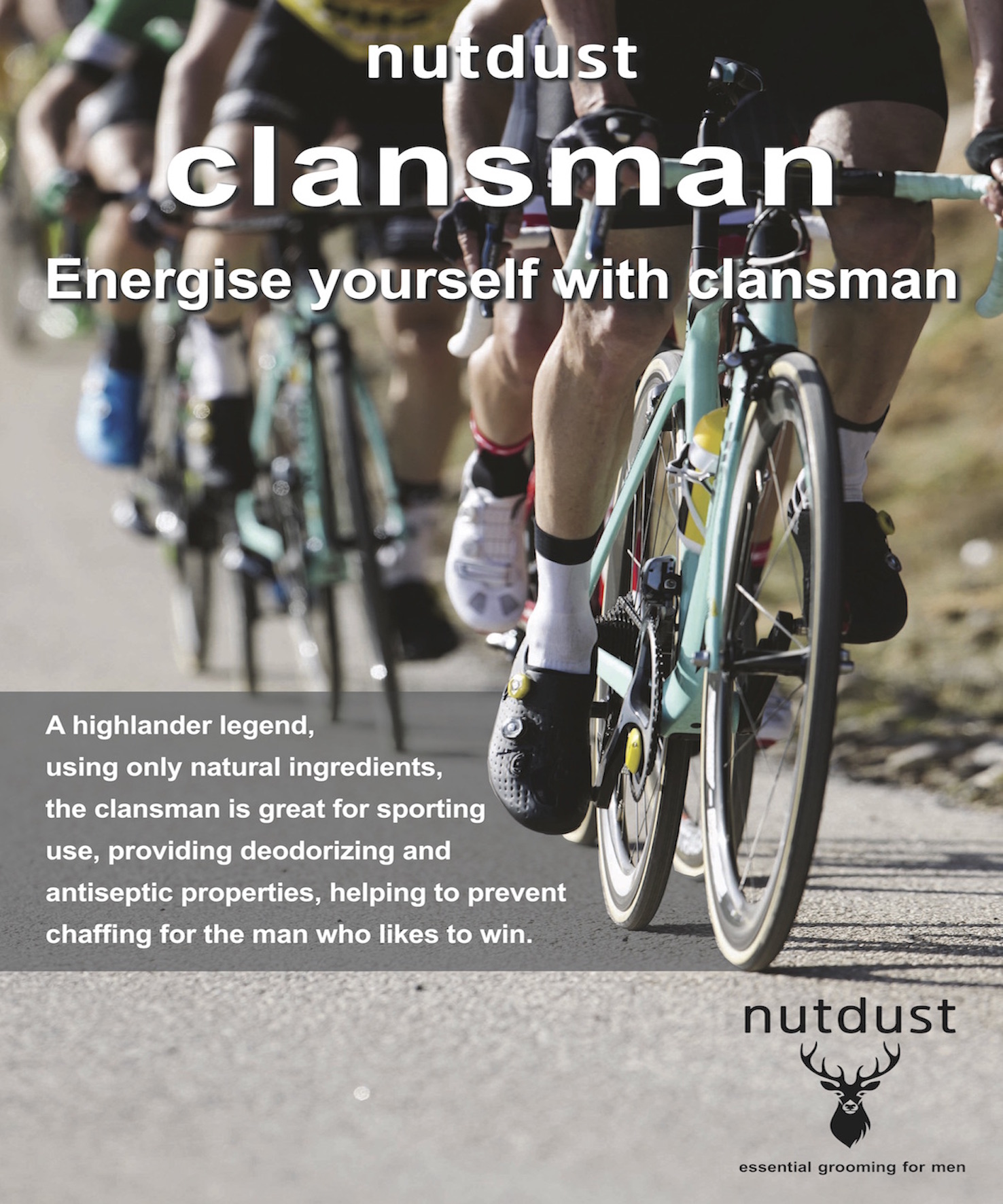 Nutdust clansman posters cycling