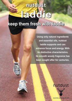 Nutdust laddie poster running