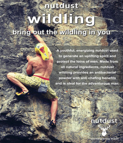 Nutdust Wildling poster climbing