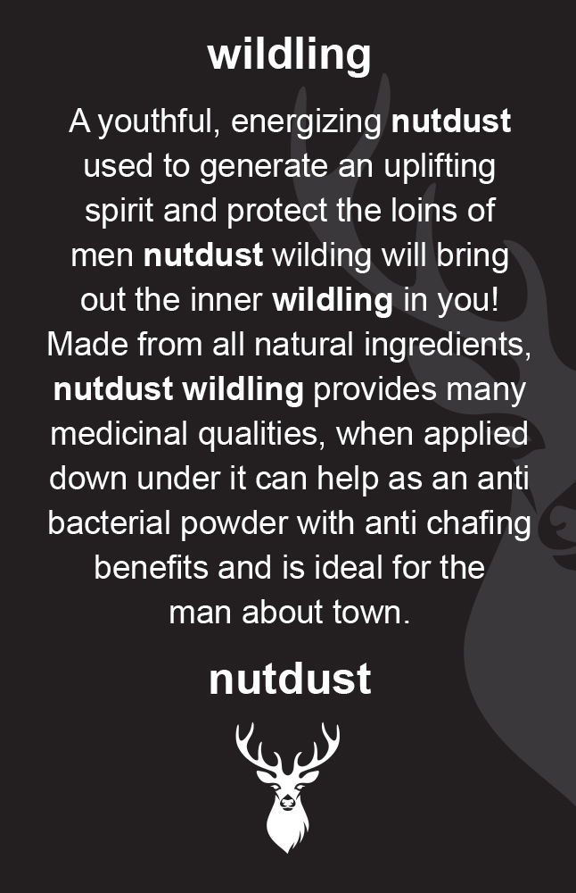 nutdust customer cards wildling