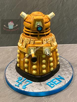 MBC-90-Dalek-Cake