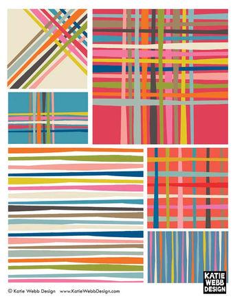 Plaids by Katie Webb Design