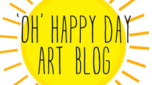 'Oh' Happy Day Art Blog
