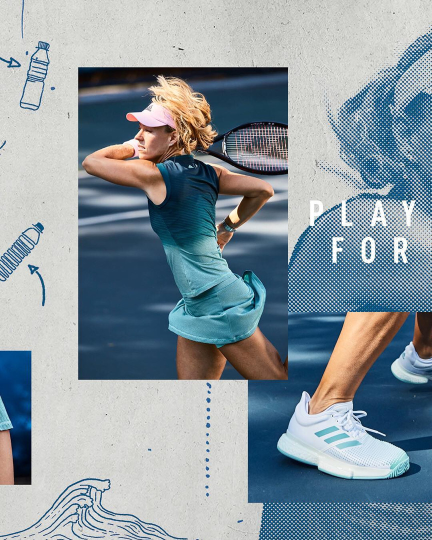 Adidas Tennis Parley Collection 14 Angelique Kerber