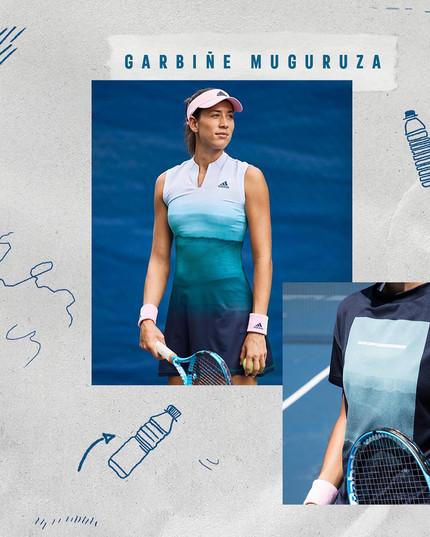 Adidas Tennis Parley Collection 8 Garbine Muguruza