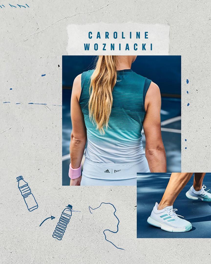 Adidas Tennis Parley Collection 22 Caroline Wozniacki