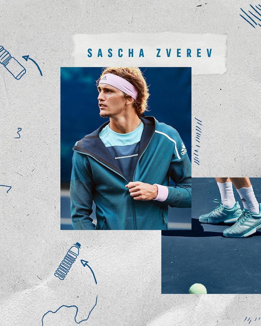 Adidas Tennis Parley Collection 16 Sascha Zverev