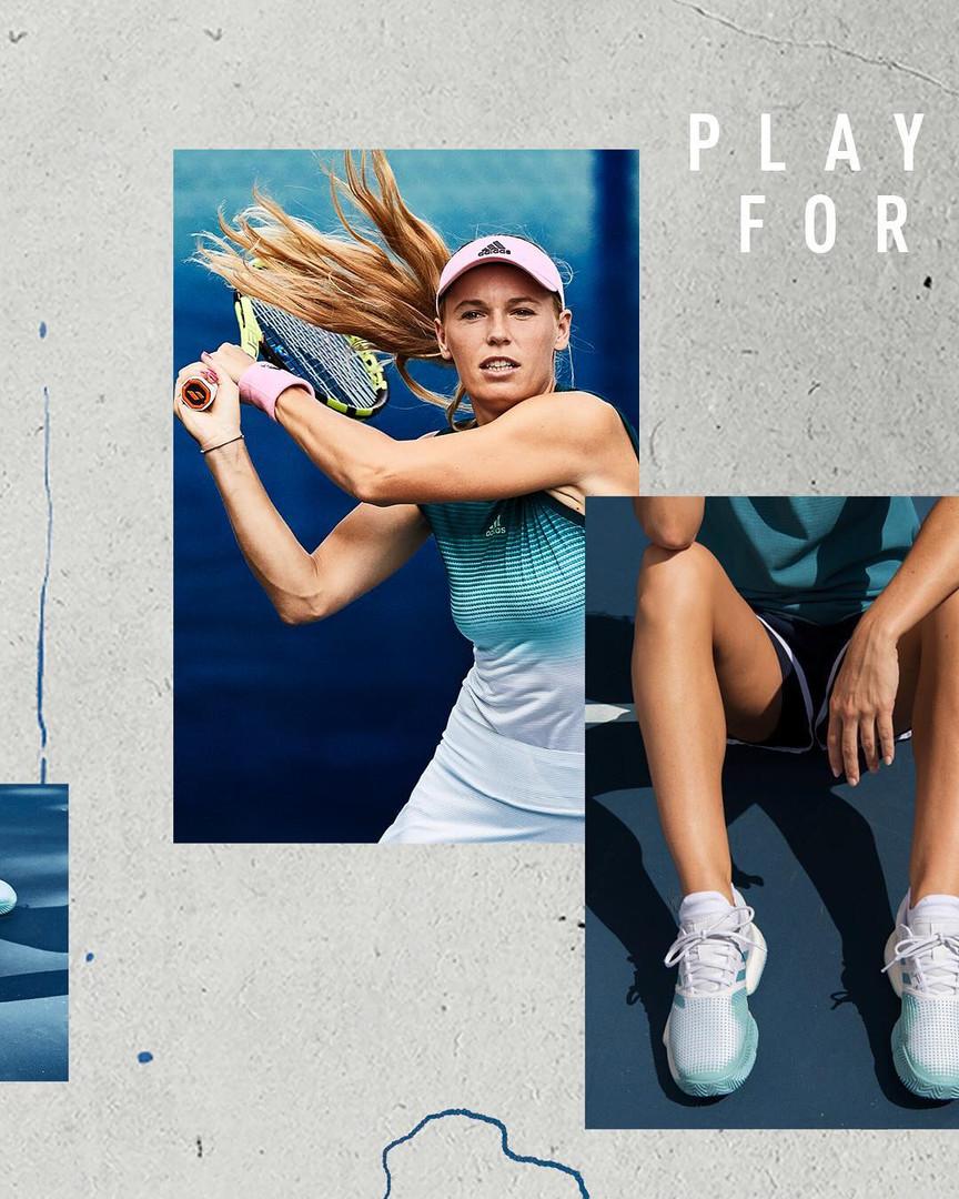 Adidas Tennis Parley Collection 23 Caroline Wozniacki