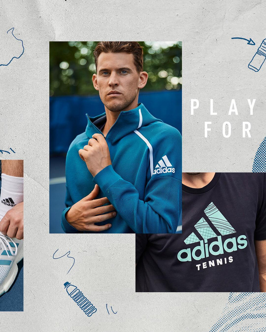 Adidas Tennis Parley Collection 4 Dominic Thiem