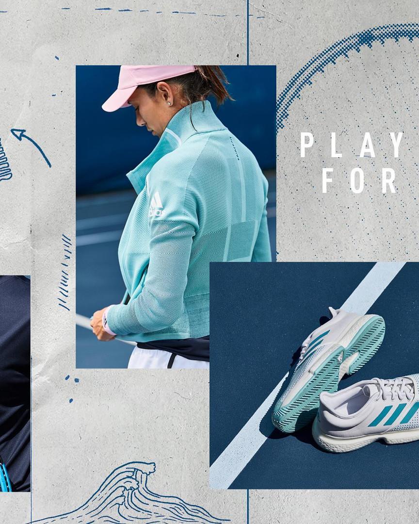 Adidas Tennis Parley Collection 9 Garbine Muguruza