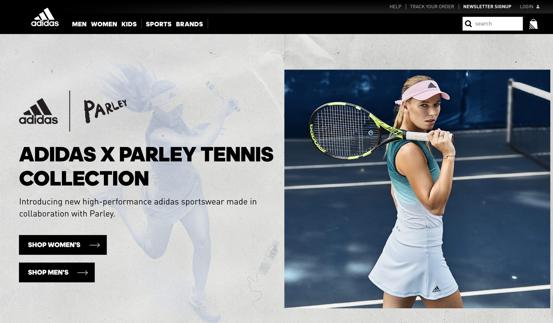 Adidas Tennis Parley Collection 1