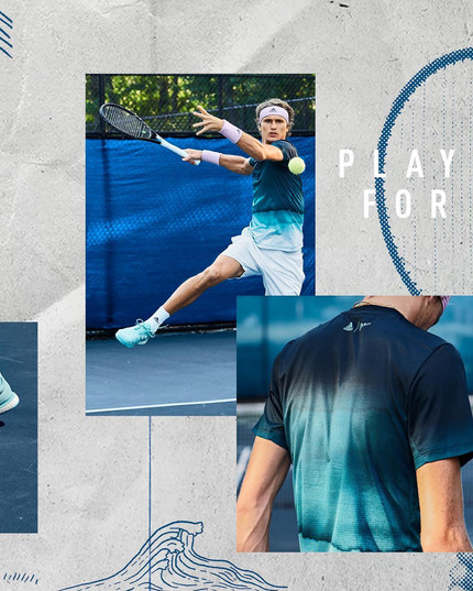 Adidas Tennis Parley Collection 17 Sascha Zverev