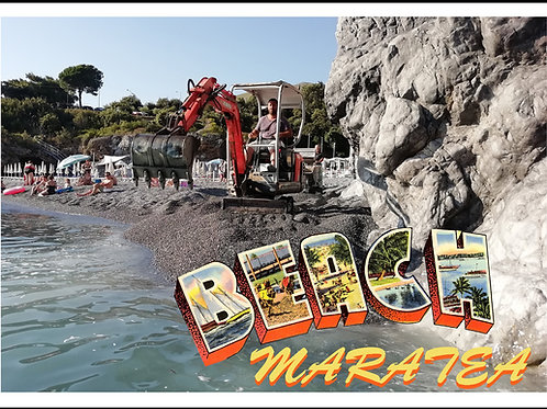 Copia di Beach liberation front . trip to italy - postcards