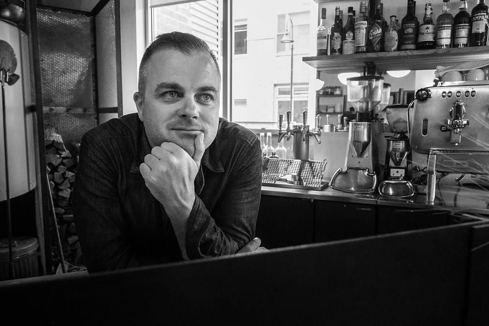 Boulder Commercial Photographer – Portrait of Owner of Restaurant