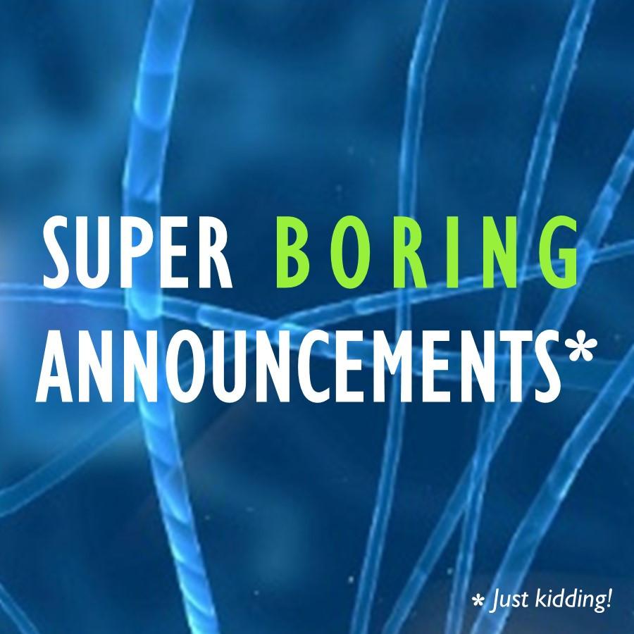 SuperBoringAnnouncements