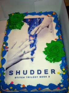 Thanks to my family/friends for the Surprise Shudder Launch Party!