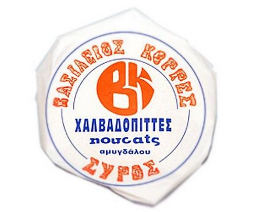ΧΑΛΒΑΔΟΠΙΤΑ ΣΥΡΟΥ - NOUGAT w/ ALMOND