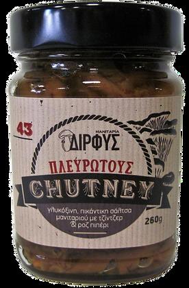 ΤΣΑΤΝΕΫ ΠΛΕΥΡΩΤΟΥΣ - OYSTER MUSHROOM CHUTNEY