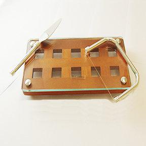 Foie Gras Wooden Server and Slicer