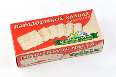 ΧΑΛΒΑΣ ΜΕ ΒΑΝΙΛΙΑ - HALVA w/ VANILLA